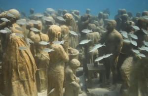 Подводные_скульптуры_Канкун_Мексика