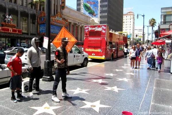 США - Голливуд и Аллея славы