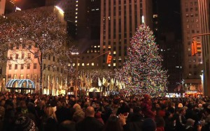 Christmas in New York,U.S.A