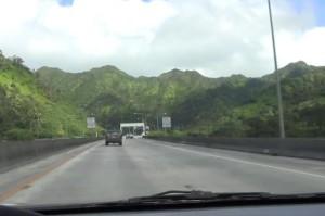 H3 Highway on Oahu