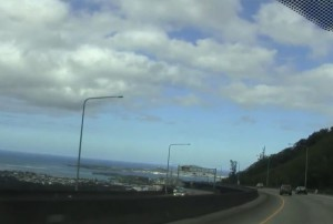 H3 Highway on Oahu Hawaii
