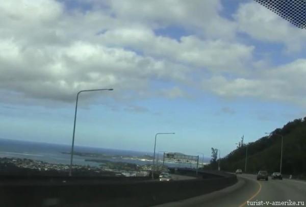 H3 Highway on Oahu Hawaii
