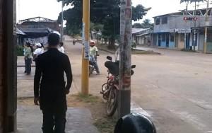 Sitiados em Puerto Maldonado Peru