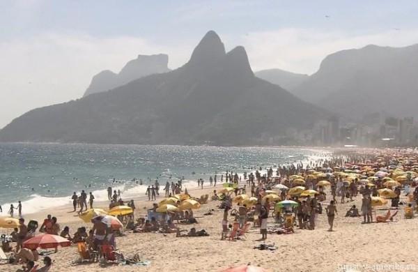 Пляж_Бразилия. Рио-де-Жанейро