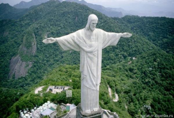 Бразилия_статуя_Исуса
