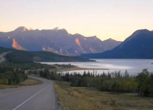 Озеро_Эйбрахам_Канада