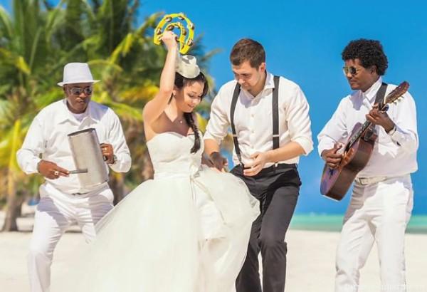 Свадьба в Доминикане на пляже Хуанийо