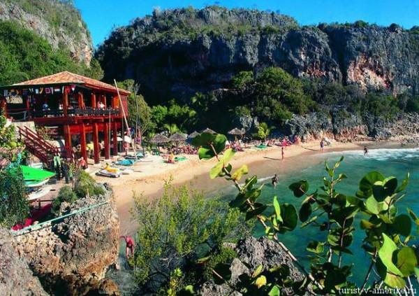 Пляж_отеля_на_Кубе