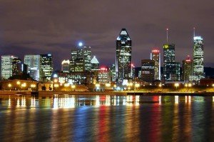 Montreal_ночью