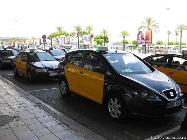 Такси_в_Испании