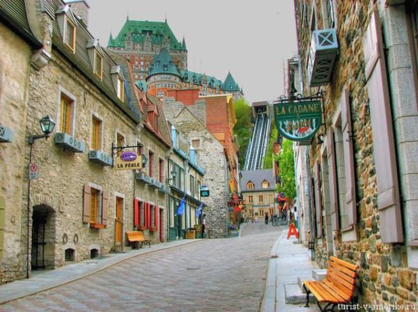 Улица_в_Квебек