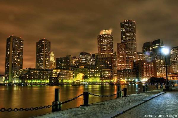 Бостон_ночью