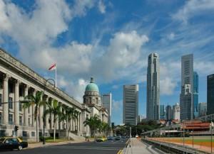 Достопримечательности Сингапура-»Золотой» мост