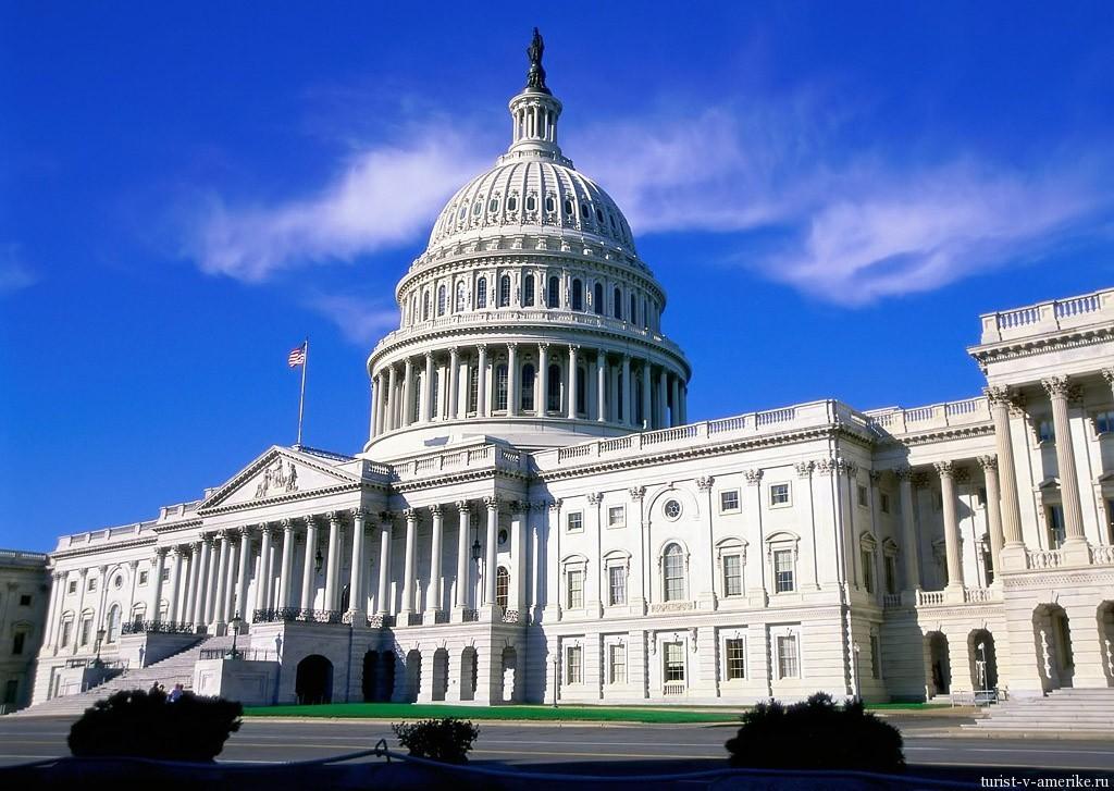 Белый дом - символ федеральной власти США
